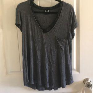 Grey H by Bordeaux shirt